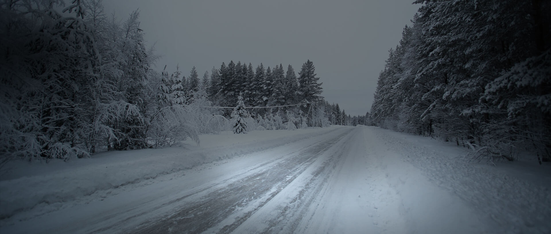 Image of Snow Packed Road